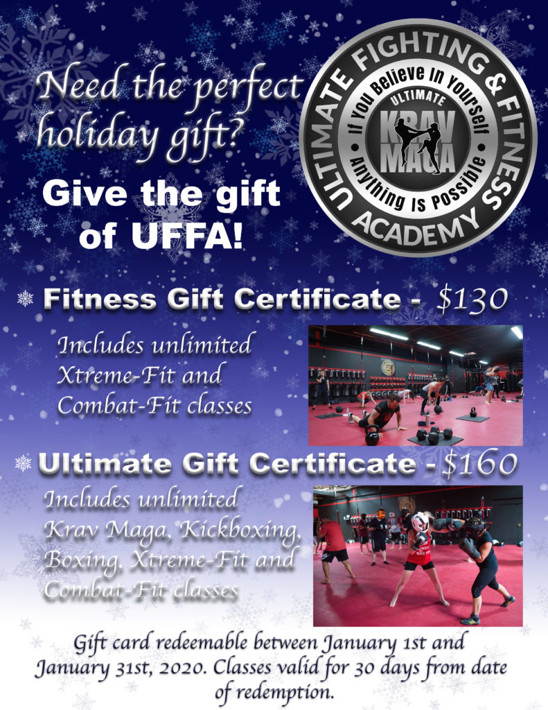 Promotional Gift Certificate for 30 days of unlimited classes.